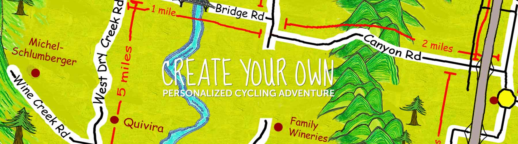 Maps Routes Resources Wine Country Bikes